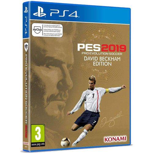 بازی PES 2019 David Beckham Edition  مخصوص PS4