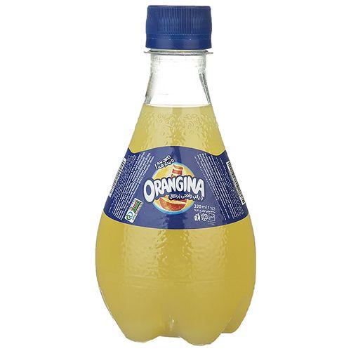 نوشابه گازدار با طعم پرتقال اورنجینا مقدار 0.32 لیتر