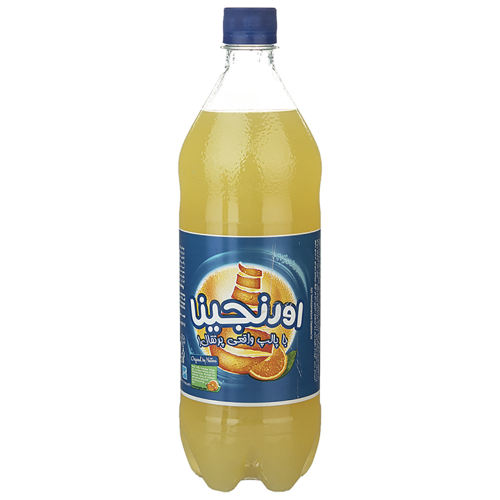 نوشابه گازدار با طعم پرتقال اورنجینا مقدار 1 لیتر