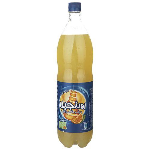 نوشابه گازدار با طعم پرتقال اورنجینا مقدار 1.5 لیتر
