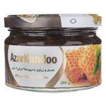 عسل و زیتون با میوه های فرآوری شده آذرکندو - 280 گرم thumb