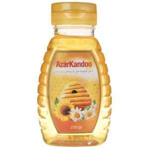 عسل طبیعی آذرکندو مقدار 250 گرم
