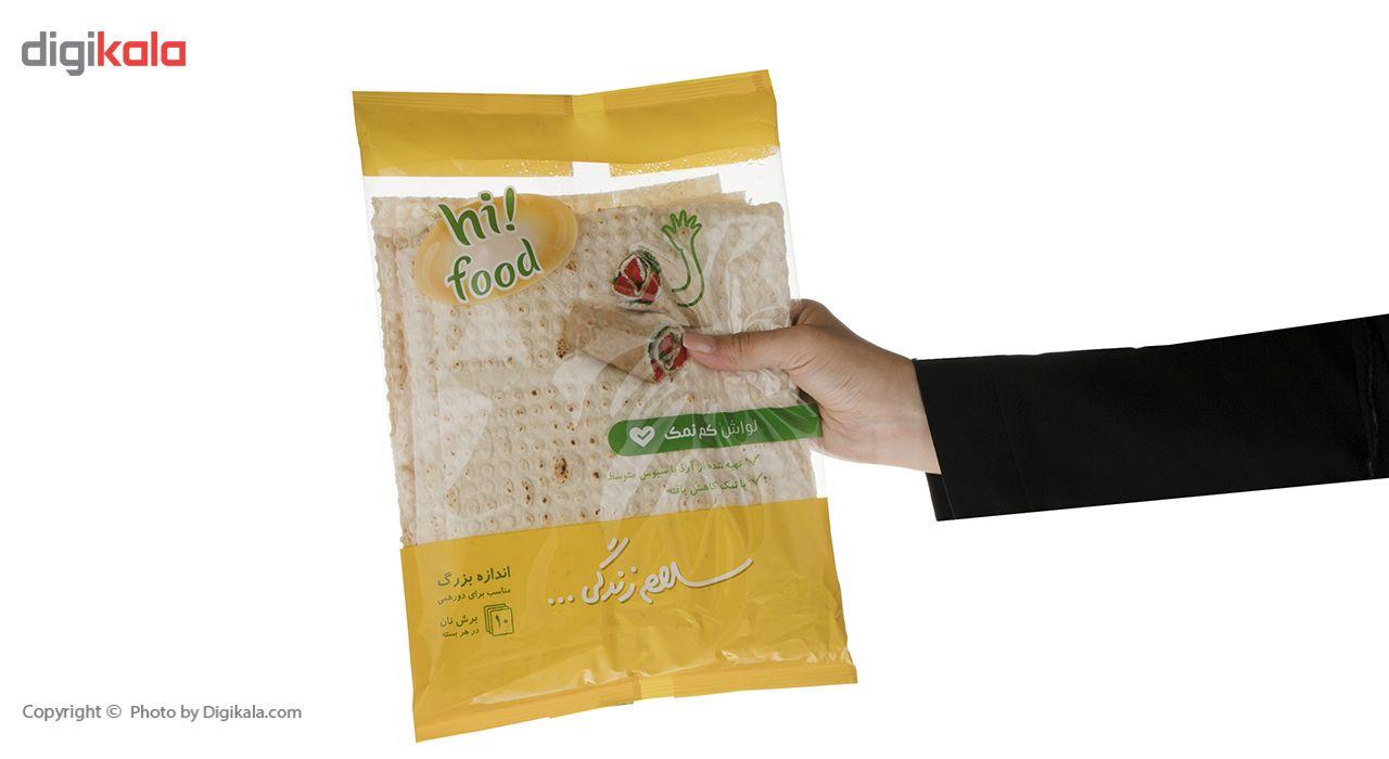نان لواش کم نمک های فود مقدار 300 گرم main 1 3