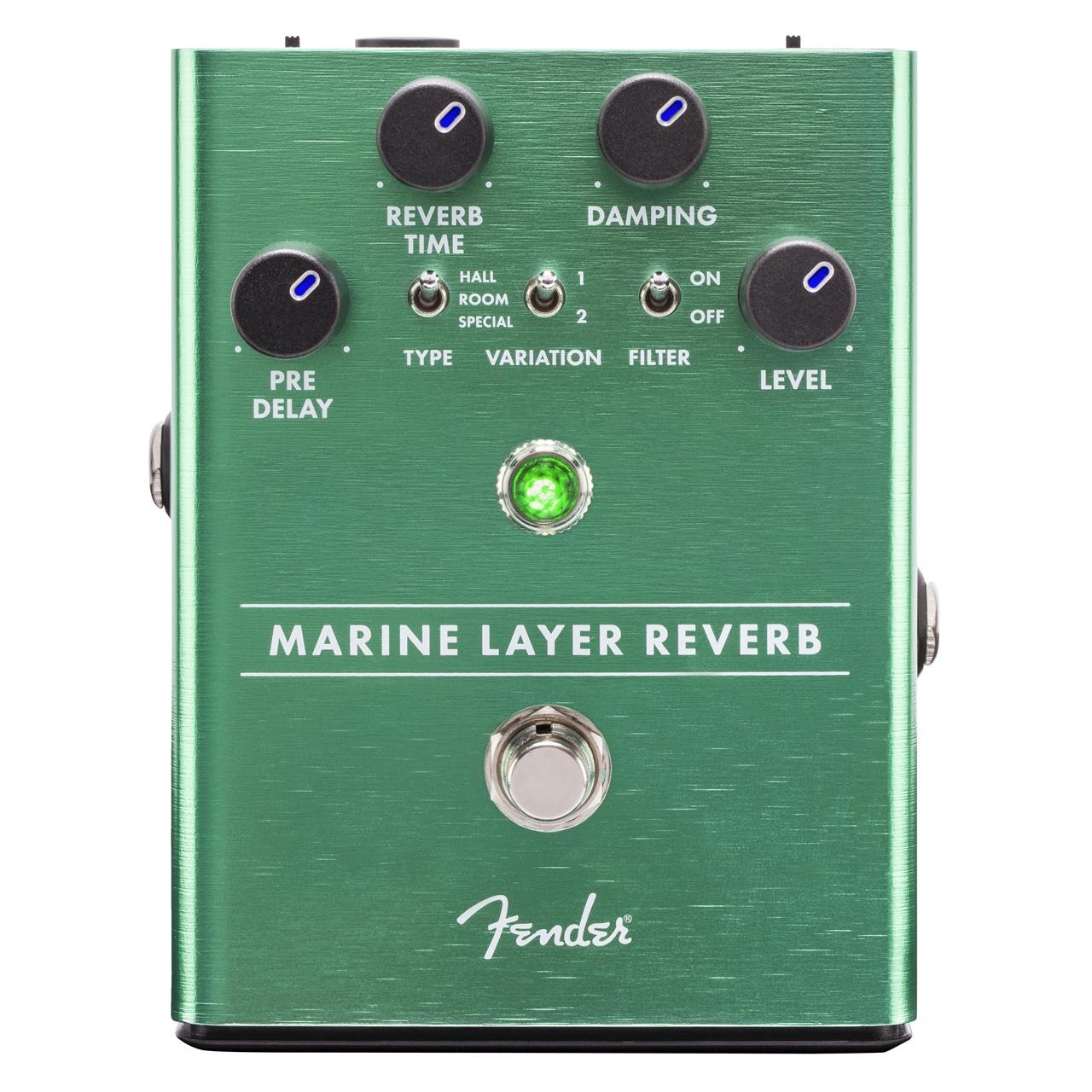 قیمت و خرید                                      افکت گیتار فندر مدل Marine Layer Reverb