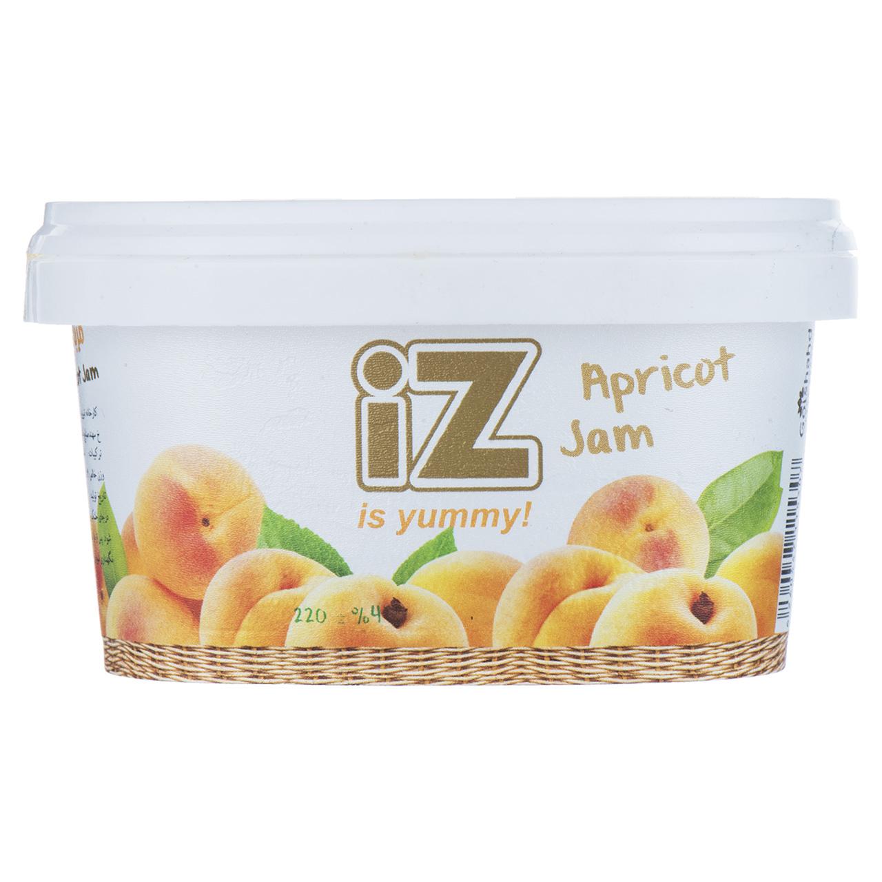 مربا زردآلو ایز - 220 گرم
