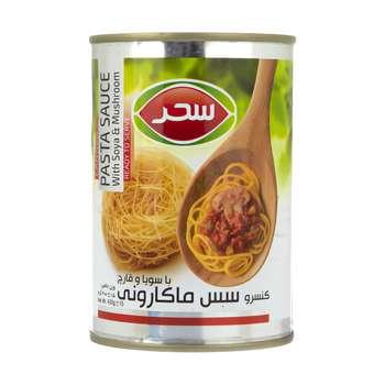 کنسرو سس ماکارونی با سویا و قارچ سحر - 400 گرم