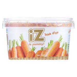 مربا هویج ایز مقدار 220 گرم