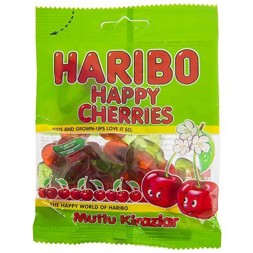 پاستیل هاریبو مدل Happy Cherries مقدار 70 گرم