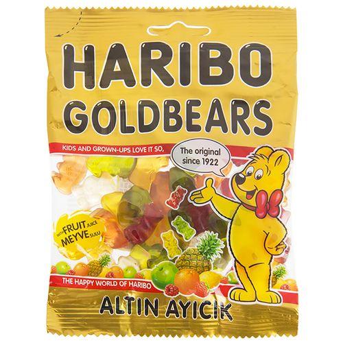 پاستیل هاریبو مدل Golden Bears مقدار 70 گرم