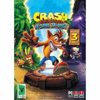 بازی Crash Bandicoot N Sane Trilogy مخصوص PC