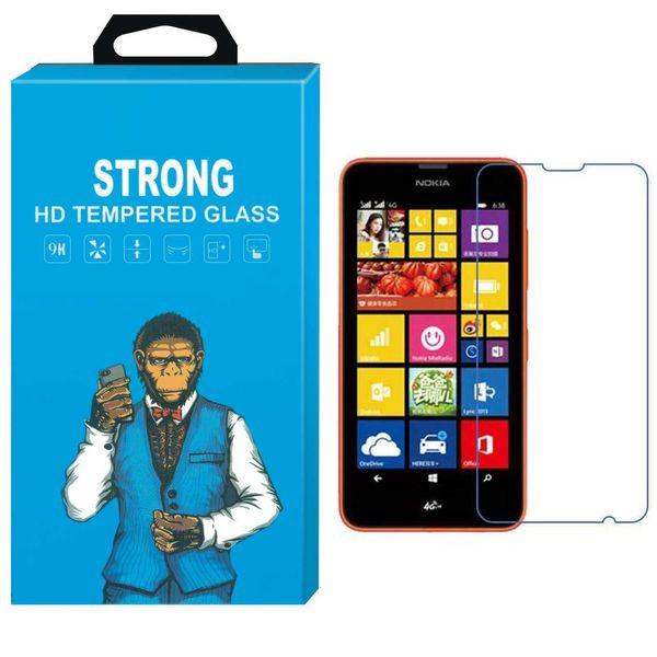 محافظ صفحه نمایش شیشه ای تمپرد مدل Strong مناسب برای گوشی نوکیا Lumia 635