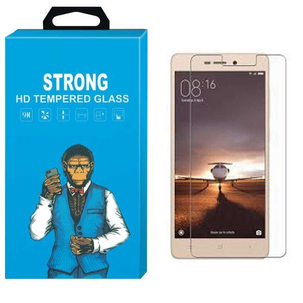 محافظ صفحه نمایش شیشه ای تمپرد مدل Strong مناسب برای گوشی شیاومی 3S Prime