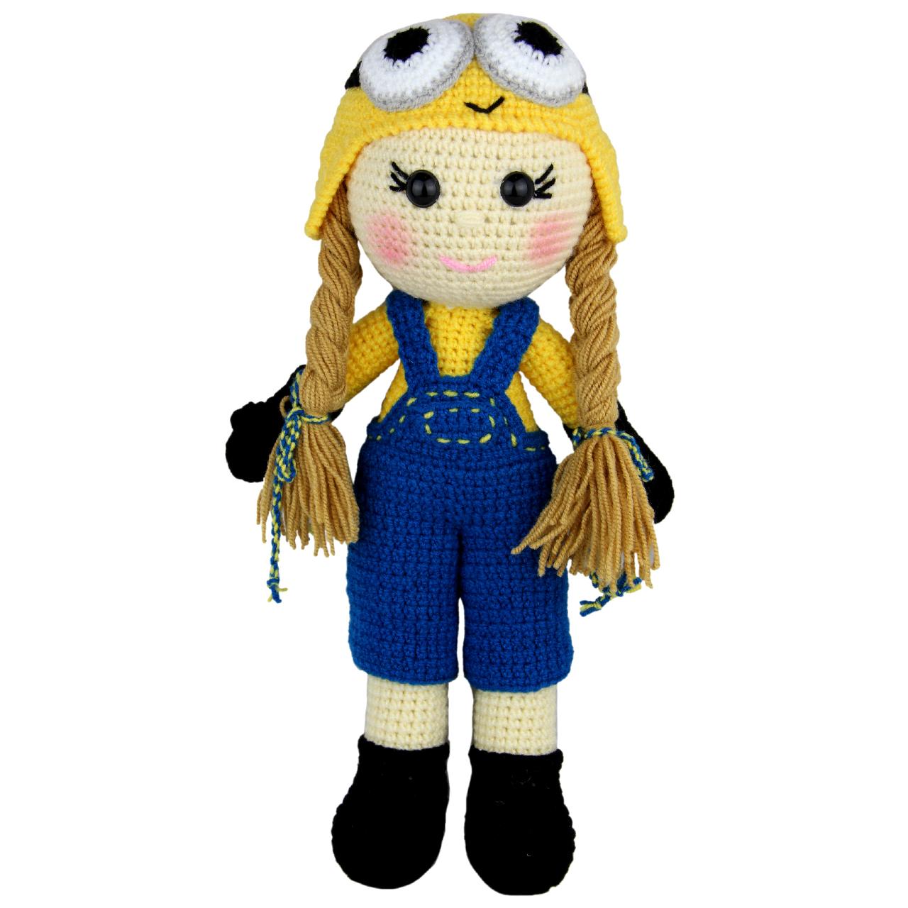 خرید                      عروسک بافتنی شیکدو مدل ty27