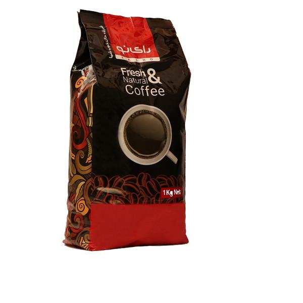 دانه قهوه رای نو مدل  صد در صد عربیکا مقدار 1000 گرمی
