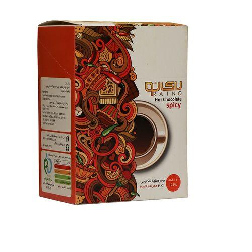 هات چاکلت رای نو مدل spicy بسته 12 عددی