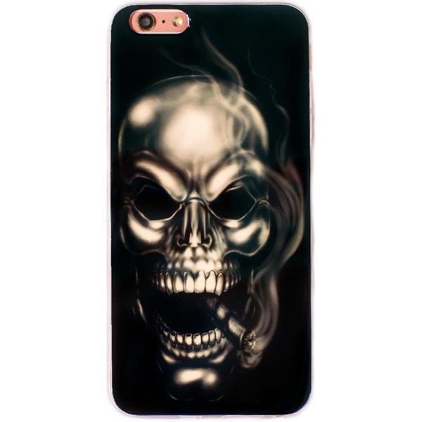 کاور ژله ای مدل Death مناسب برای گوشی موبایل آیفون 6Plus