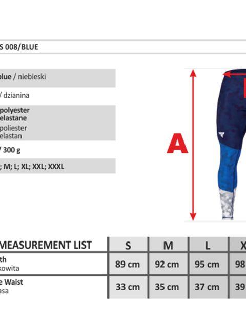 لگ ورزشی مردانه ترِک ویر مدل 008 Blue -  - 9