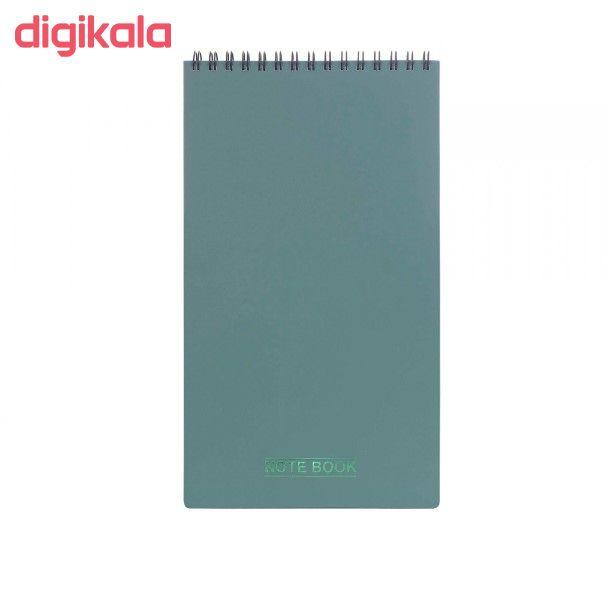 دفتر یادداشت 80 برگ پاپکو مدل مهندسی کد NB-614 main 1 3
