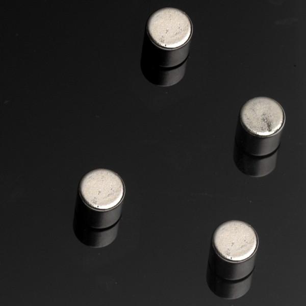 گیره آهنربایی ناگا مدل Strong Steel Cylinderr - بسته 4 عددی