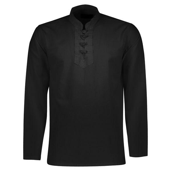 تصویر پیراهن الیاف طبیعی اصیل جامه مدل 3000