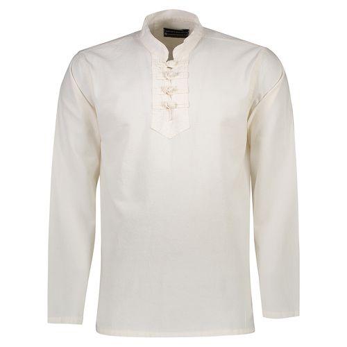 پیراهن الیاف طبیعی اصیل جامه مدل 3001