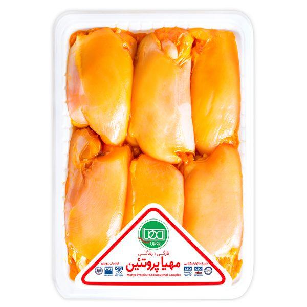 جوجه کباب ران مرغ زعفرانی مهیا پروتئین مقدار  0.9 کیلوگرم