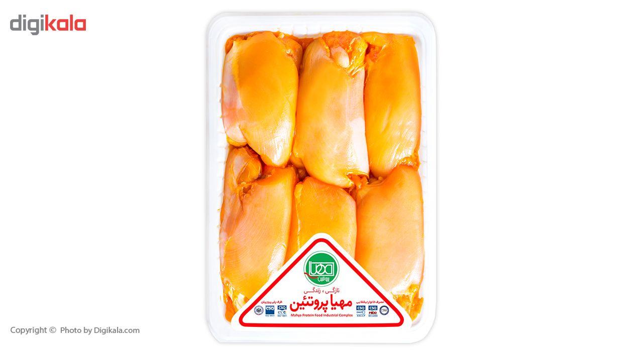 جوجه کباب ران مرغ زعفرانی مهیا پروتئین مقدار  0.9 کیلوگرم main 1 1