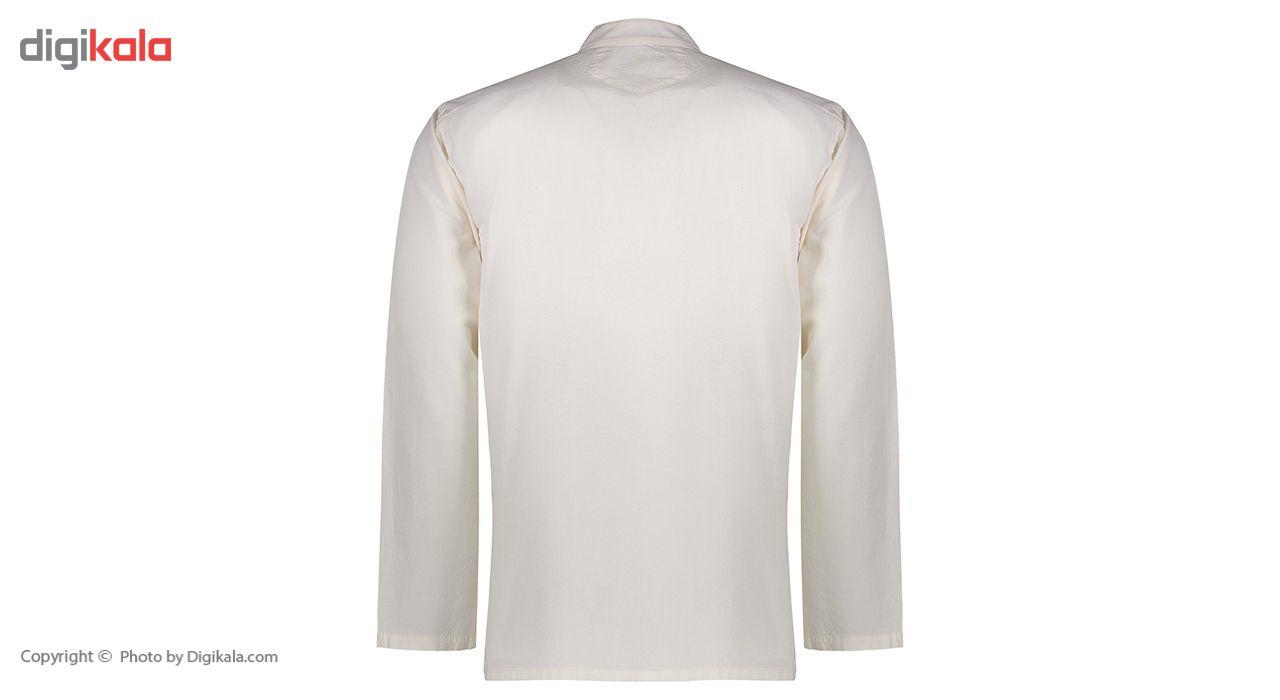 پیراهن الیاف طبیعی اصیل جامه مدل 3001 main 1 3