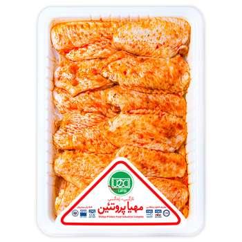 بال مرغ اسپایسی مهیا پروتئین مقدار 0.9 کیلوگرم