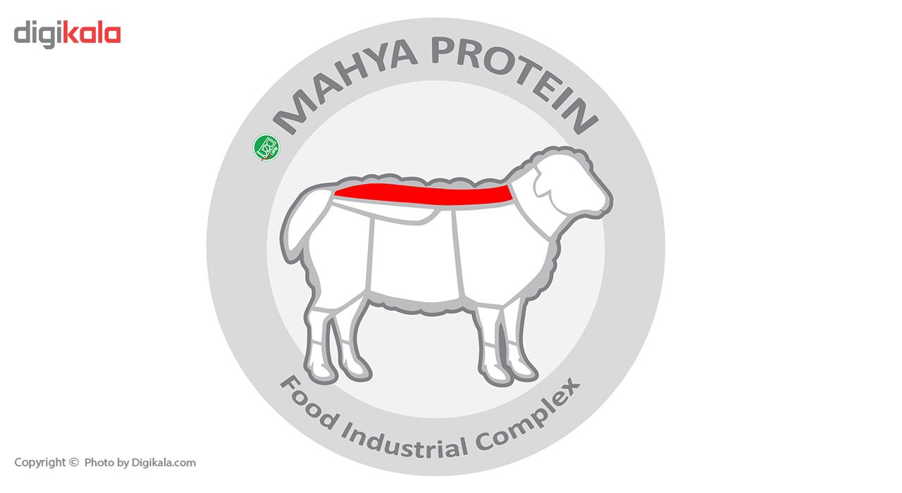راسته بی استخوان گوسفندی داخلی مهیا پروتئین مقدار 1 کیلوگرم