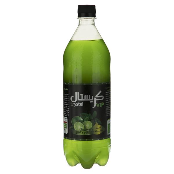 نوشابه گازدار با طعم لیمو و نعناع کریستال - 1 لیتر