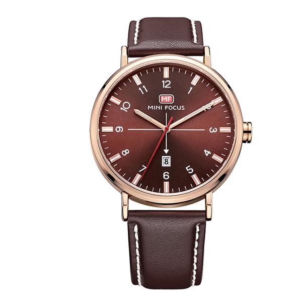 ساعت مچی عقربه ای مردانه مینی فوکوس مدل mf0019g.02