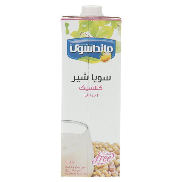 شیرسویا کلاسیک مانداسوی مقدار 1 لیتر