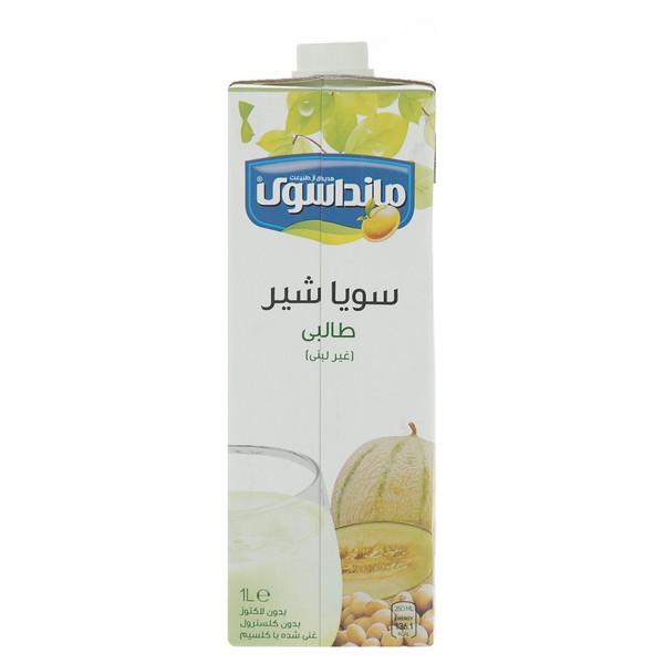 شیرسویا طالبی مانداسوی مقدار 1 لیتر