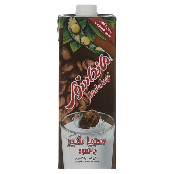 شیرسویا قهوه مانداسوی مقدار 1 لیتر