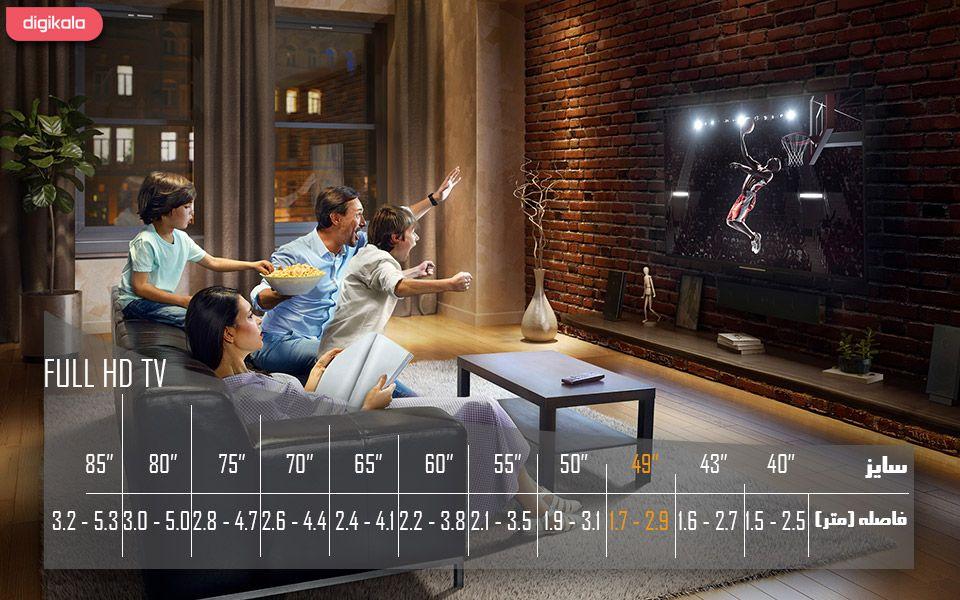 تلویزیون ال ای دی هوشمند خمیده سامسونگ مدل 49N6950 سایز 49 اینچ main 1 6