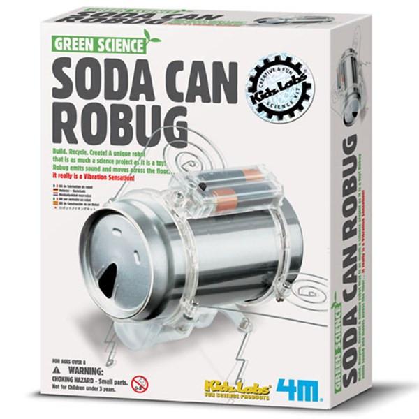 کیت آموزشی 4ام مدل Soda Can Robug 03266