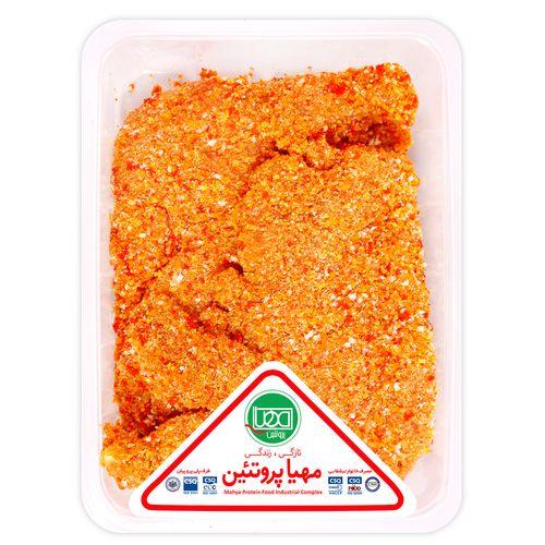 شنیتسل با آرد مهیا پروتئین مقدار 0.9 کیلوگرم