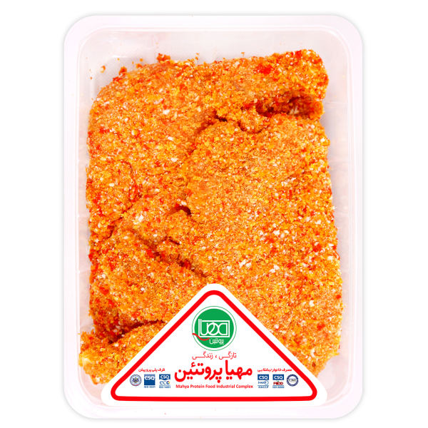 شنیسل با آرد مهیا پروتئین مقدار 900 گرم
