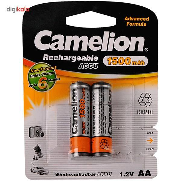 باتری قلمی قابل شارژ کملیون مدل ACCU 1500mAh بسته 2 عددی main 1 1