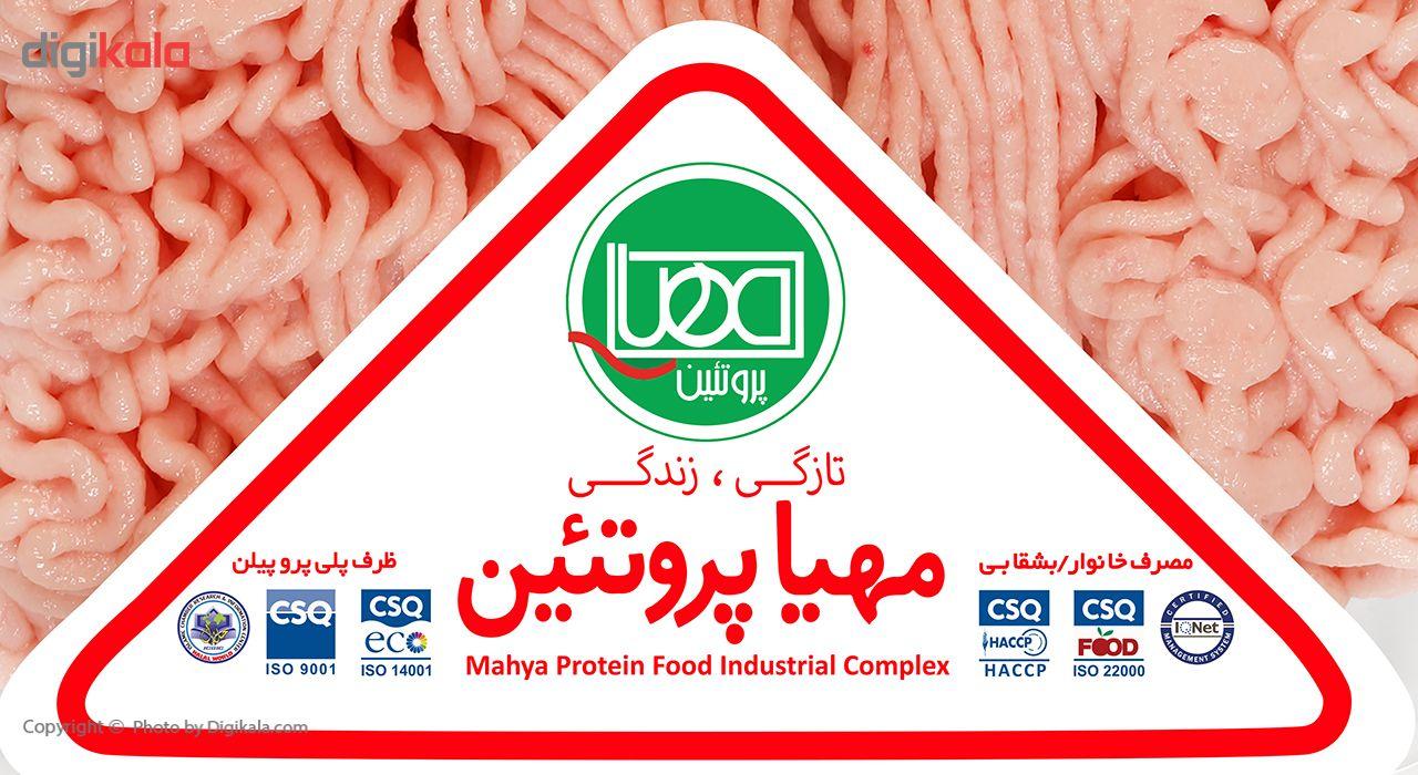گوشت چرخ کرده مرغ مهیا پروتئین مقدار 0.5 کیلوگرم main 1 2