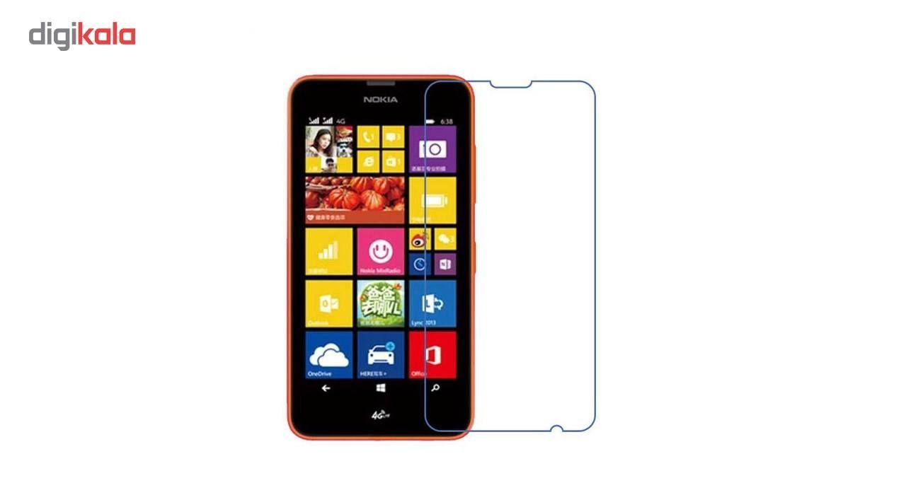 محافظ صفحه نمایش شیشه ای تمپرد مدل Strong مناسب برای گوشی نوکیا Lumia 635 main 1 1