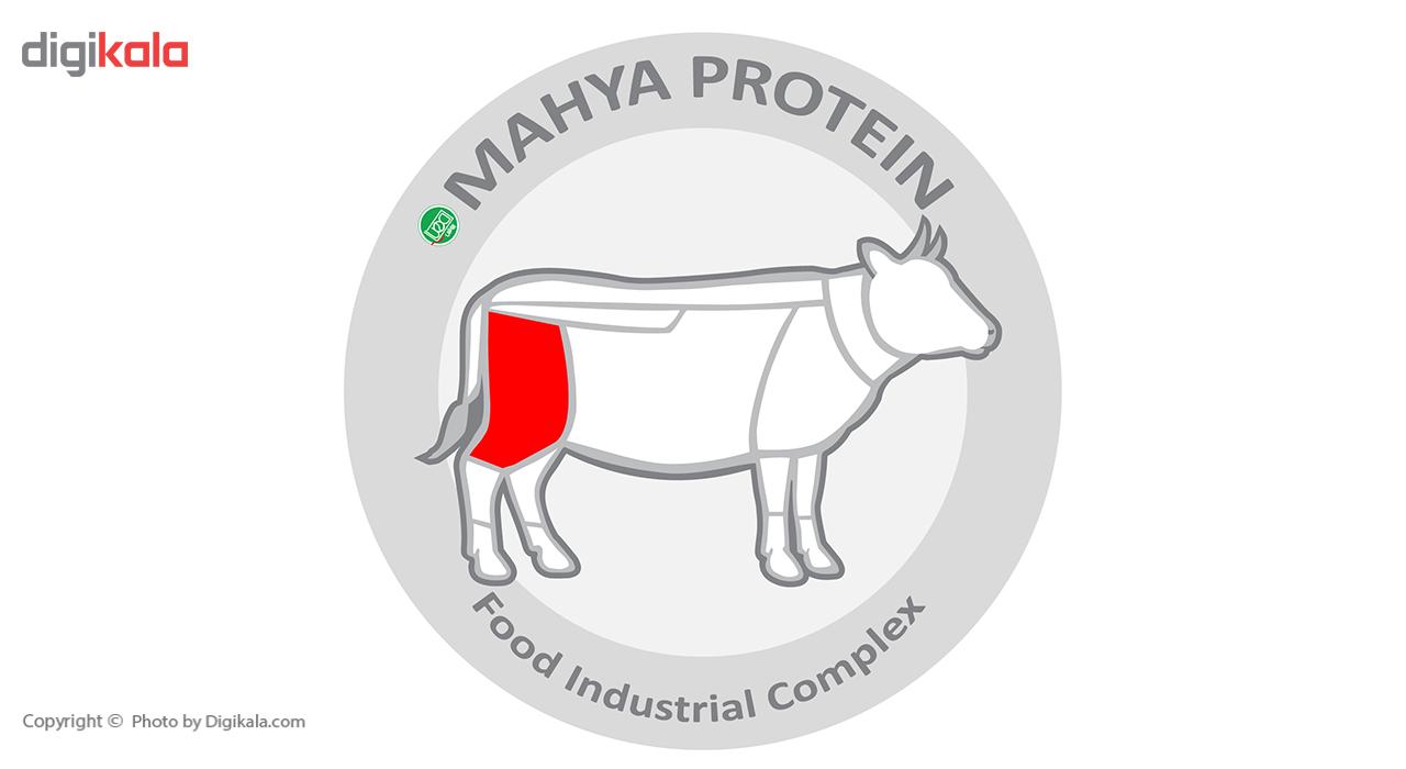 گوشت نگینی استامبولی گوساله مهیا پروتئین مقدار 0.5 کیلوگرم