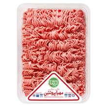گوشت چرخ کرده مخلوط گوساله و گوسفند مهیا پروتئین مقدار 1 کیلوگرم
