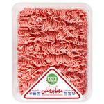 گوشت چرخ کرده مخلوط گوساله و گوسفند مهیا پروتئین مقدار 0.5 کیلوگرم thumb