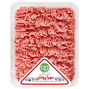 گوشت چرخ کرده مخلوط گوساله و گوسفند مهیا پروتئین مقدار 0.5 کیلوگرم