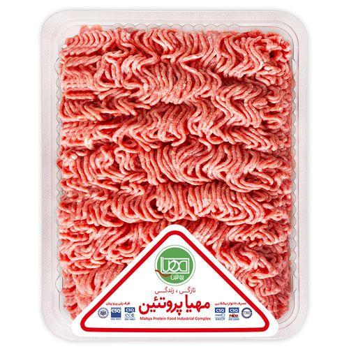گوشت چرخ کرده مخلوط ممتاز مهیا پروتئین مقدار 0.5 کیلوگرم