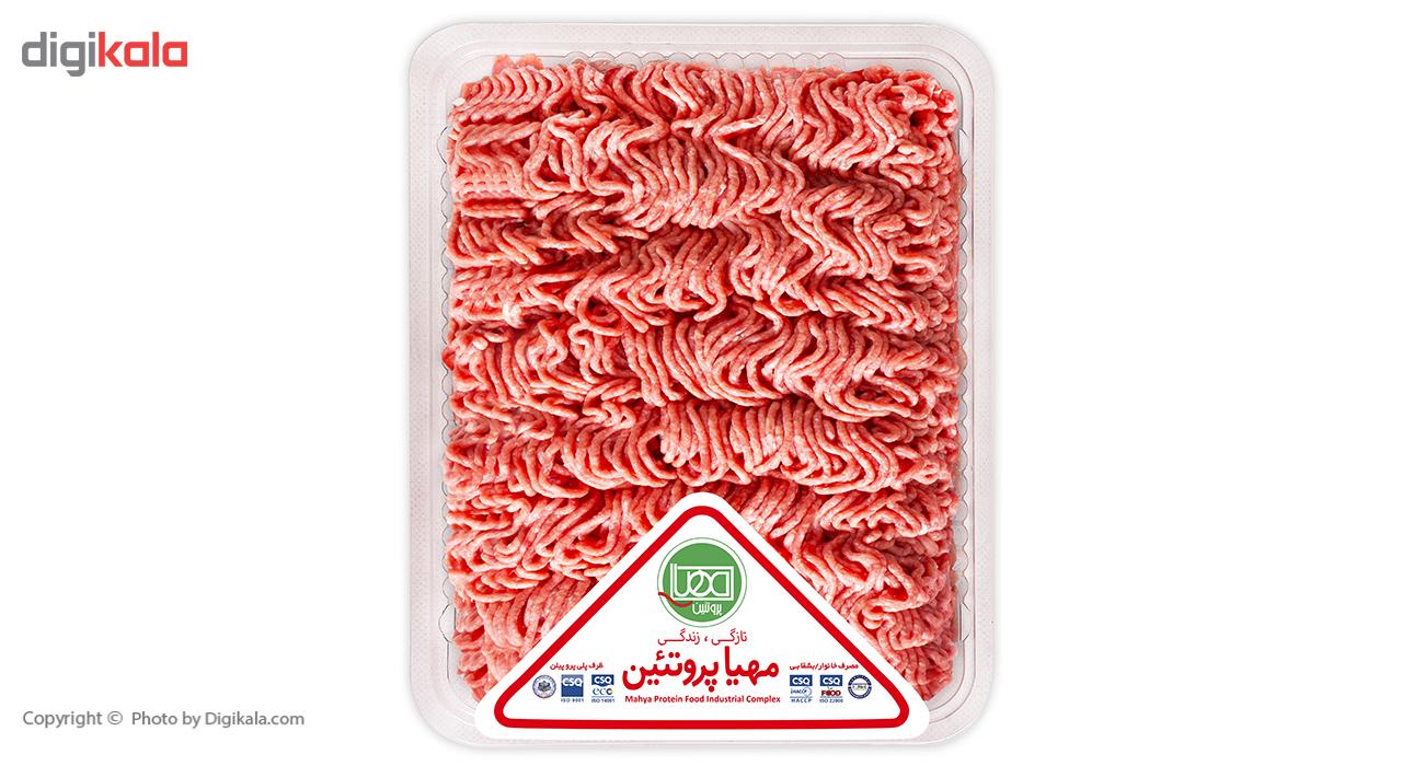 گوشت چرخ کرده مخلوط گوساله و گوسفند مهیا پروتئین مقدار 0.5 کیلوگرم main 1 2