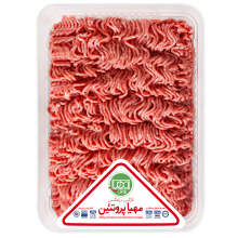 گوشت چرخ کرده گوساله ممتاز مهیا پروتئین مقدار 1 کیلوگرم