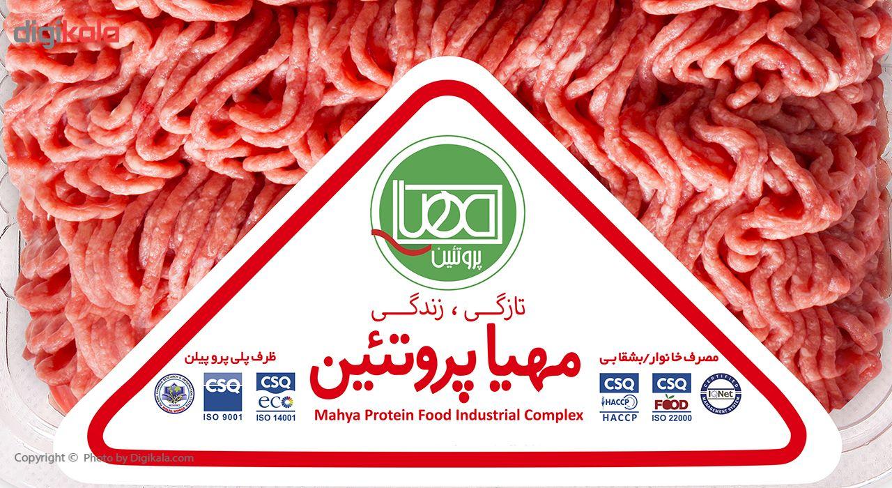 گوشت چرخ کرده گوساله ممتاز مهیا پروتئین - 1 کیلوگرم main 1 2